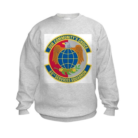 60th Services Squadron Kids Sweatshirt