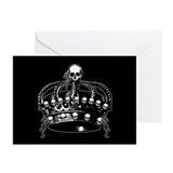 skull-crown_gc.jpg Greeting Cards (Pk of 20)