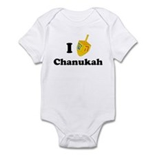"""I love Chanukah"" Infant Bodysuit"