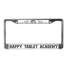 Happy Tablet Academy License Plate Frame
