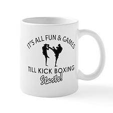 Unique Kick Boxing designs Mug