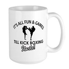 Unique Kick Boxing designs Mug