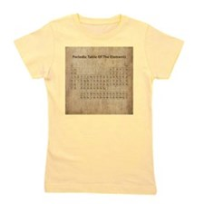 Vintage Periodic Table Girl's Tee