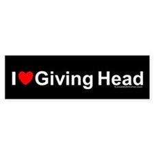 Giving Head Stickers