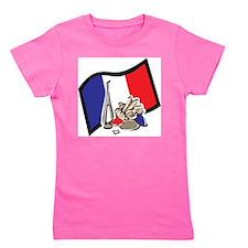 France Bastille Day Girl's Tee