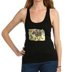 Cute Camel Racerback Tank Top