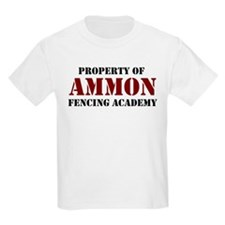 Ammon Fencing Academy Kids T-Shirt