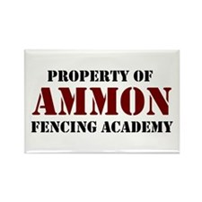Ammon Fencing Academy Rectangle Magnet (10 pack)