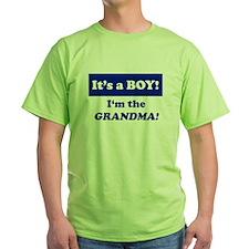 It's A Boy! I'm The Grandma T-Shirt