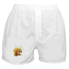 toasting Thanksgiving Turkey Boxer Shorts