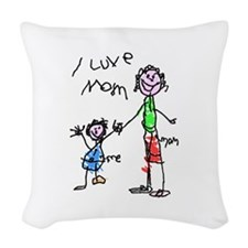 New Section Woven Throw Pillow