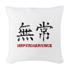 Impermanence Woven Throw Pillow