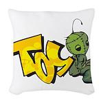 TOS Woven Throw Pillow