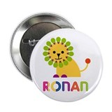 "Ronan Loves Lions 2.25"" Button (10 pack)"