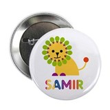 Samir Loves Lions 2.25&quot; Button