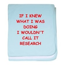 research baby blanket