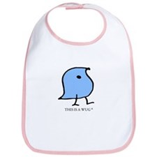 This is a Wug Baby Bib