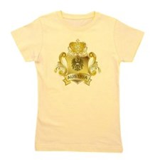 Gold Austria Girl's Tee