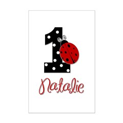 1 Ladybug NATALIE - Custom Posters