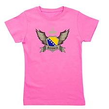 Bosnia Emblem Girl's Tee