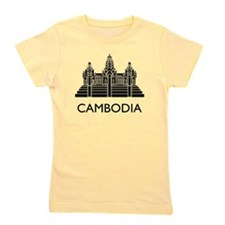 Cambodia Angkor Wat Girl's Tee