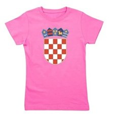 Croatia Coat Of Arms Girl's Tee