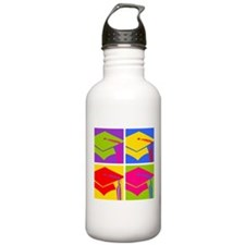 Pop Art Grad Sports Water Bottle