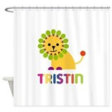Tristin Loves Lions Shower Curtain