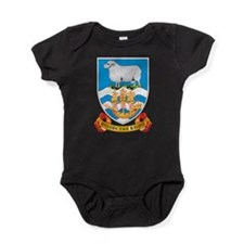 Falkland Islands Coat Of Arms Baby Bodysuit