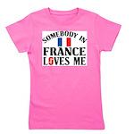 Somebody In France Girl's Tee