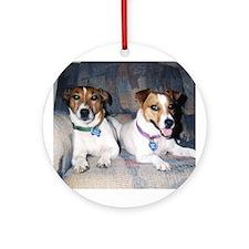 Oscar & Heidi Ornament (Round)