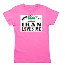 Somebody In Iran Girl's Tee