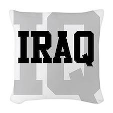 IQ Iraq Woven Throw Pillow
