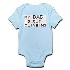 Dad's out climbing Infant Creeper