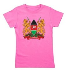Kenya Coat of Arms Girl's Tee