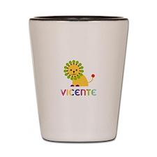 Vicente Loves Lions Shot Glass