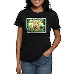 Chicks For Christmas! Women's Dark T-Shirt