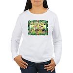 Chicks For Christmas! Women's Long Sleeve T-Shirt