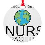 Worlds Greatest Nurse Practitioner Ornament