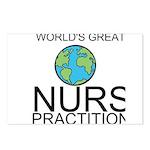 Worlds Greatest Nurse Practitioner Postcards (Pack