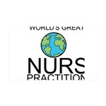 Worlds Greatest Nurse Practitioner Wall Decal