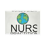 Worlds Greatest Nurse Practitioner Rectangle Magne