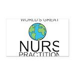 Worlds Greatest Nurse Practitioner Rectangle Car M