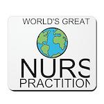Worlds Greatest Nurse Practitioner Mousepad