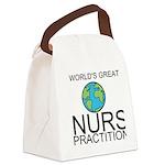 Worlds Greatest Nurse Practitioner Canvas Lunch Ba