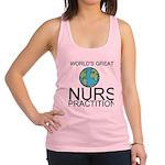 Worlds Greatest Nurse Practitioner Racerback Tank