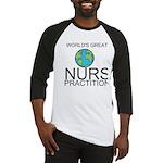Worlds Greatest Nurse Practitioner Baseball Jersey