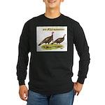 Wild Thanksgiving! Long Sleeve Dark T-Shirt