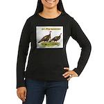 Wild Thanksgiving! Women's Long Sleeve Dark T-Shir