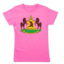 Lesotho Coat Of Arms Girl's Tee